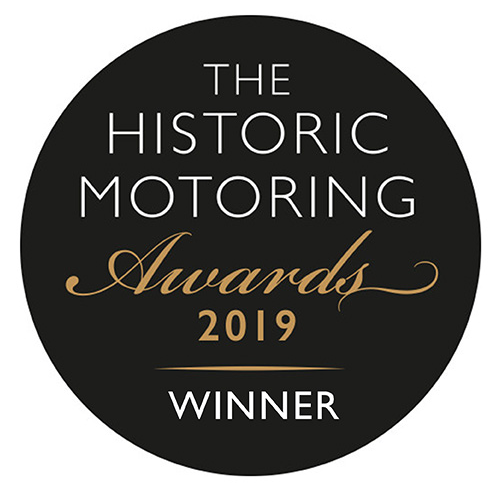The Historic Motoring Award Logo 2019